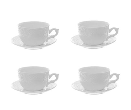 Сервиз 4 чашки и 4 чинийки Ivan