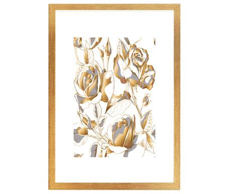 Obraz Gracious Roses 24x29 cm