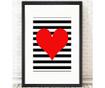 Tablou Hearts 24x29 cm