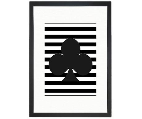 Obraz Clubs 24x29 cm