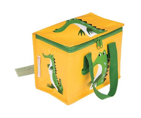 Izotermička torba za užinu Harry the Crocodile