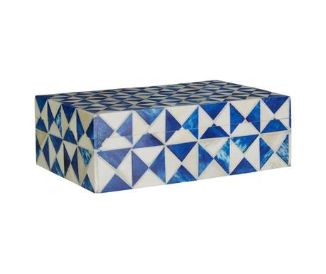 Pudełko z pokrywką Trinket Blue S