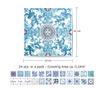 Set 24 naljepnice Blue Mosaic