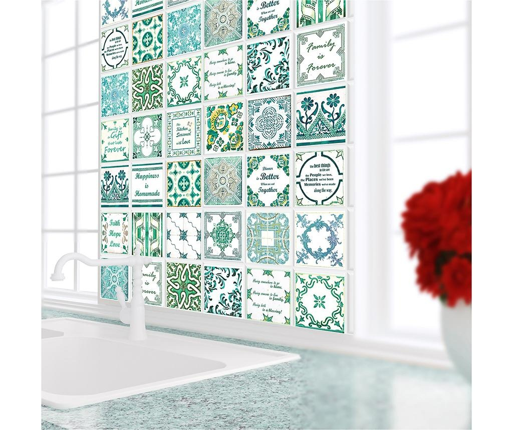 French Quote Green 24 db Matrica