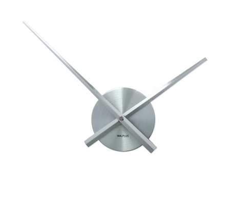 Стенен часовник Flexi Minimal Silver