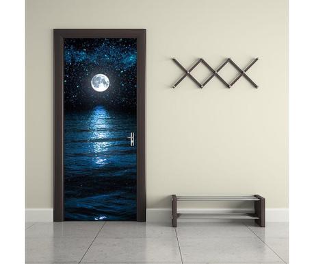 Naklejka na drzwi Moon and Stars