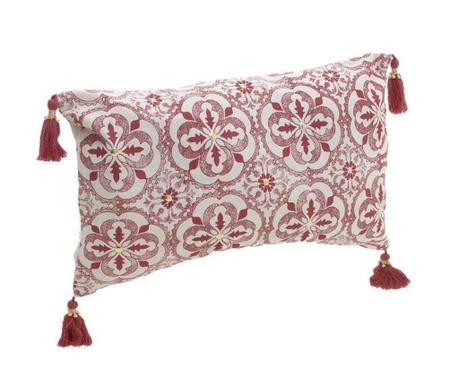 Poduszka dekoracyjna Edith Red 30x50 cm