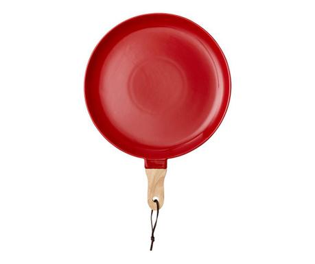 Servirni krožnik Classic Red