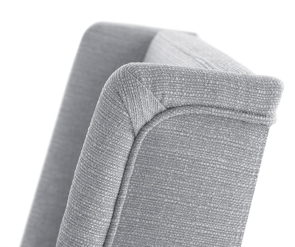 Комплект 2 стола Zeste Grey  Noir