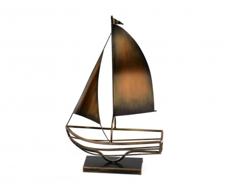 Premium Sailing Boat Copper Palacktartó