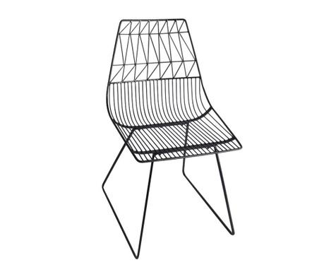 Stolica za vanjski prostor Art de Fer Black