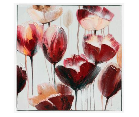 Картина Gallery Tulips 80x80 см