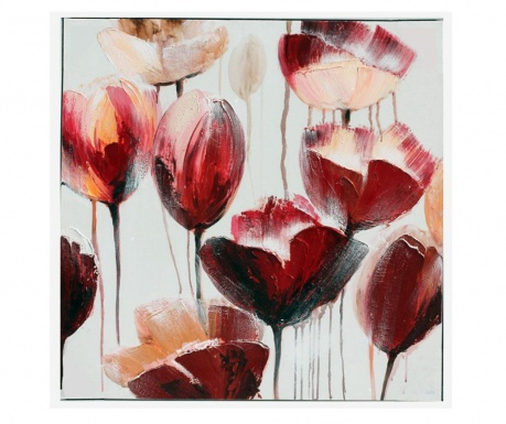 Gallery Tulips Festmény 80x80 cm