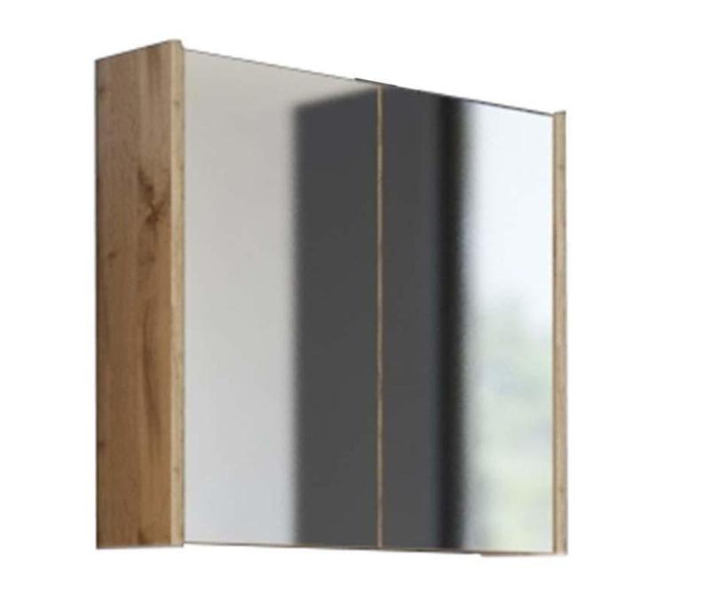 Ibiza Wood Fali szekrény tükörrel