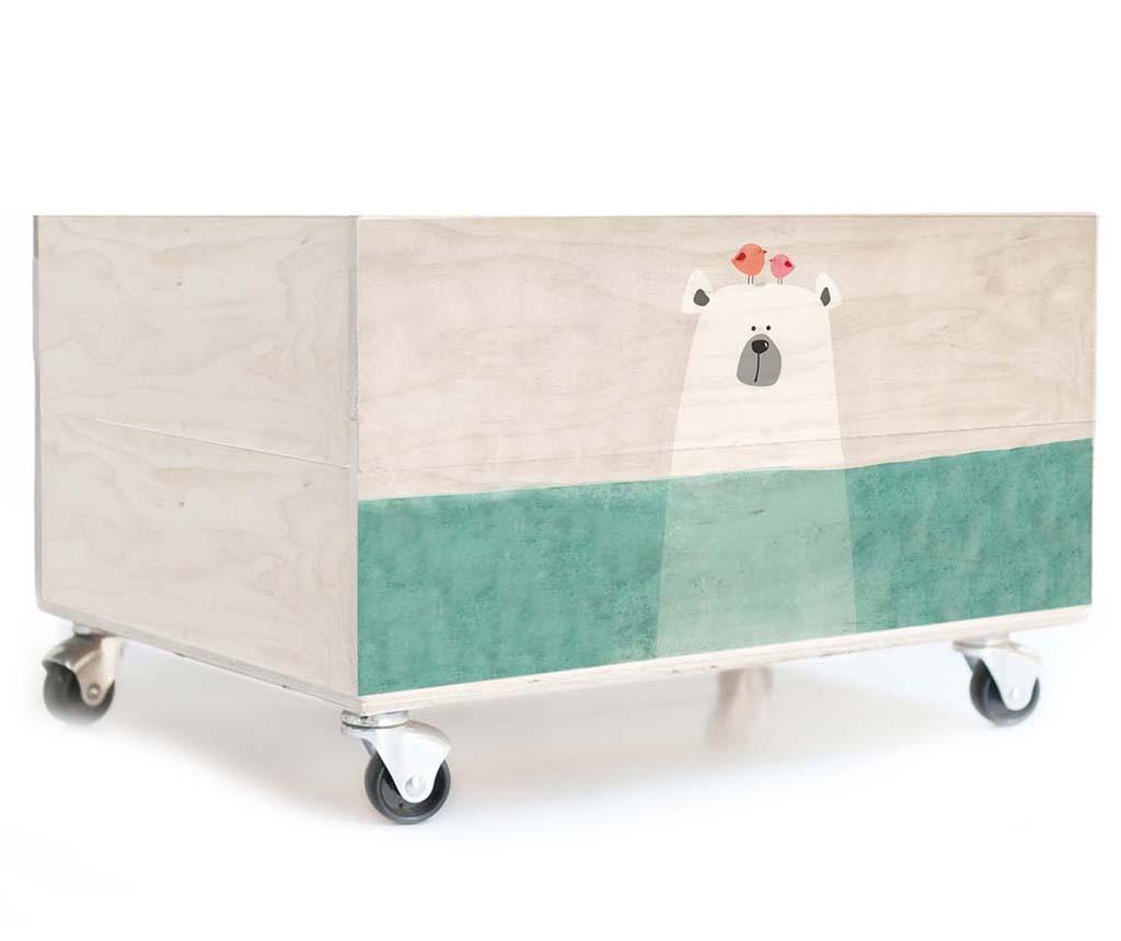 Škatla za igrače Polar Bear