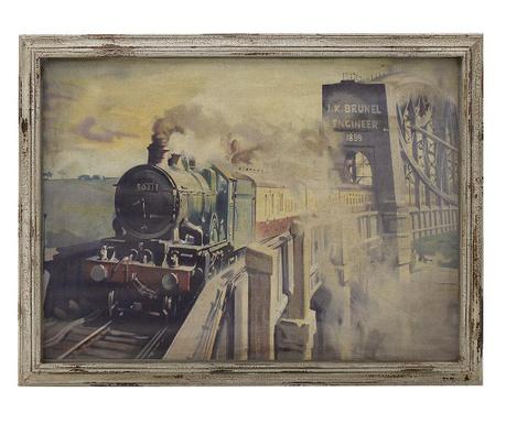 Tablou Locomotive 76x100 cm