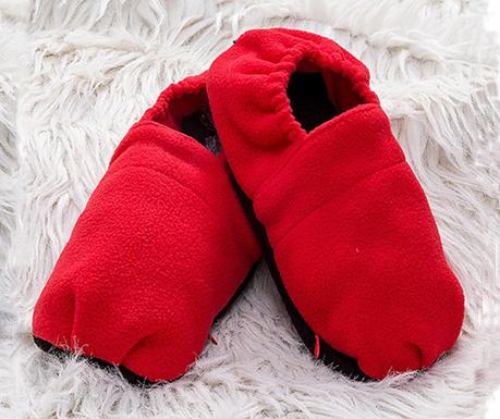 Papuci termici Micro Confort Pro Red