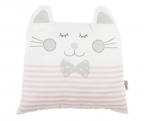 Ukrasni jastuk Blushing Cat Pink 29x29 cm