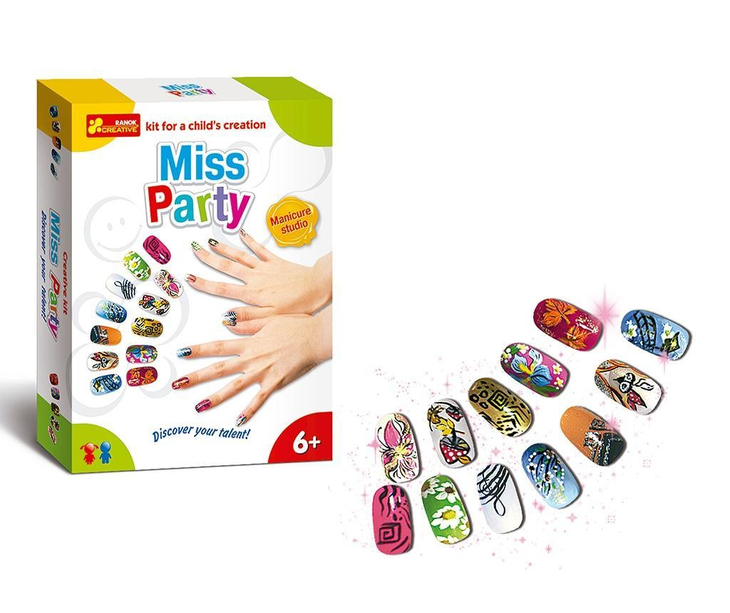 Set creativ pentru manichiura Miss Party