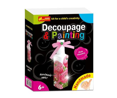 Креативна игра Pink Flowers