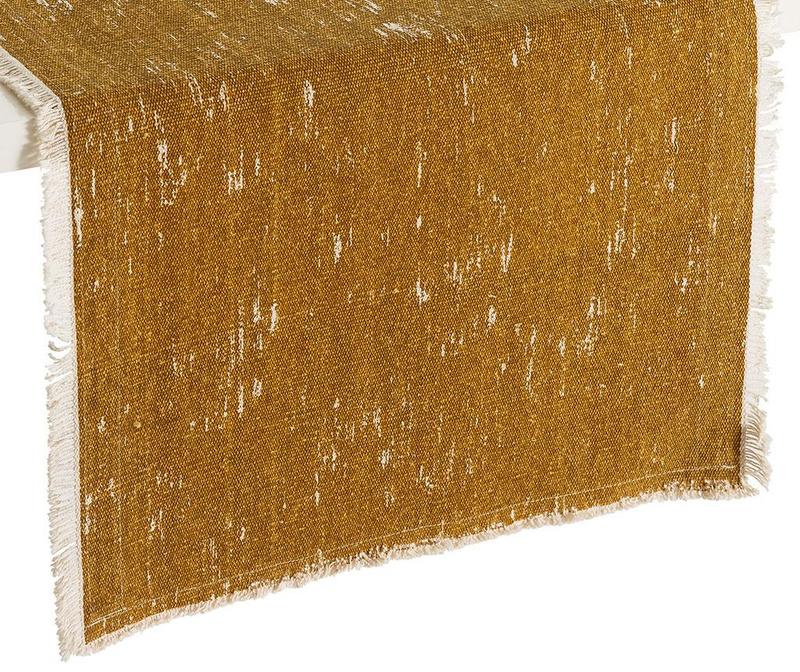 Nadstolnjak Uma Ocre 45x150 cm