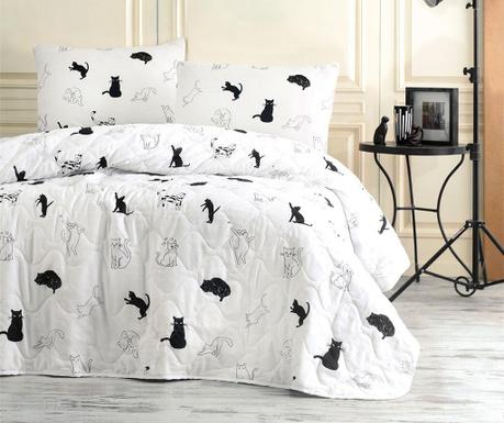 Set s prešitim posteljnim pregrinjalom Double Patte