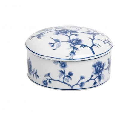 Кутия с капак Blue Flowers