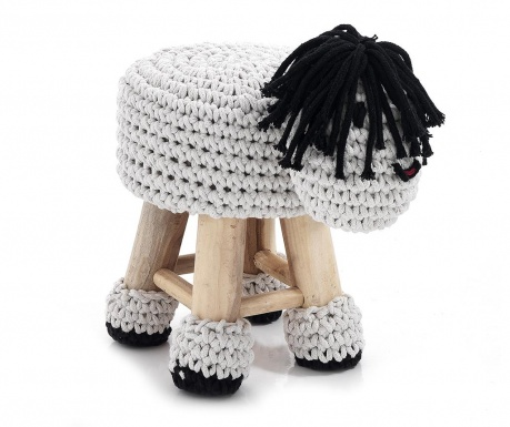 Otroška pručka Animal White