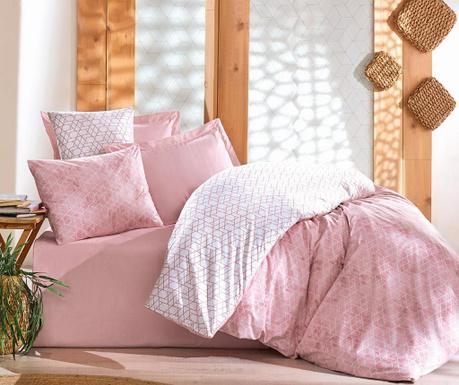 Спално бельо Single Ranforce Best Pink