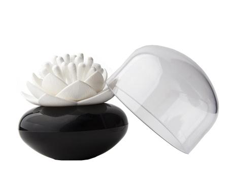 Suport pentru betisoare de urechi Lotus Black White