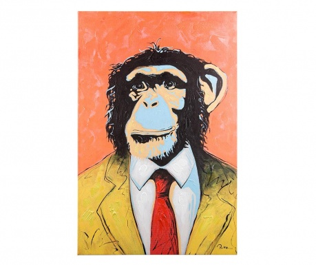 Tablou Talent Monkey 60x90 cm