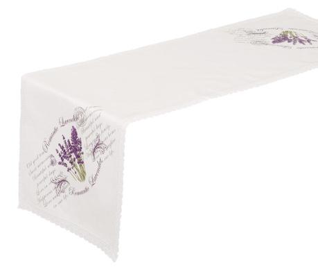 Lavander Asztali futó 40x140 cm
