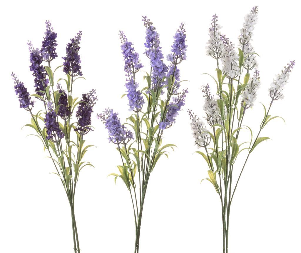 Set 3 umetnih cvetlic Lavender