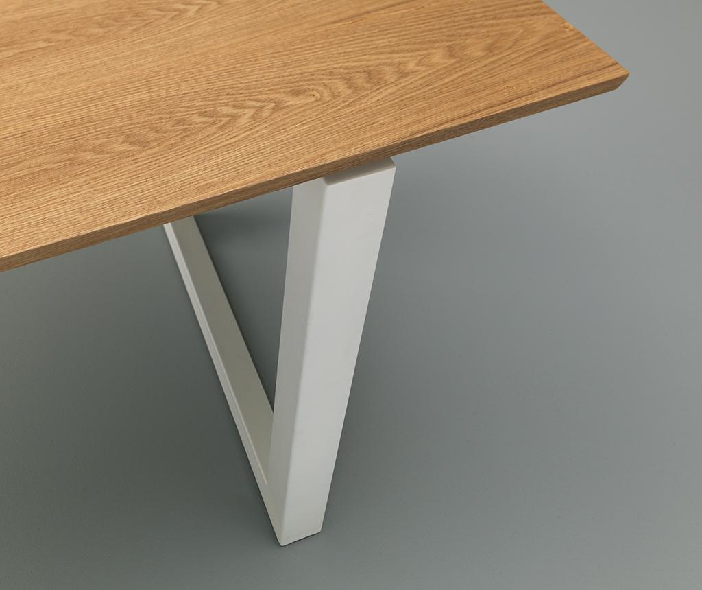 Stůl Gaza White Wood