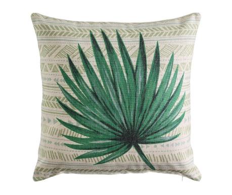 Poduszka dekoracyjna Pointy Palm Leaf 45x45 cm