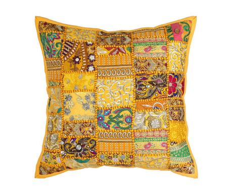 Dekorační polštář Ethnic Yellow 50x50 cm
