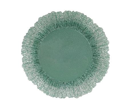 Ρηχό πιάτο Corolia Sea Green