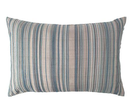 Tenby Stripe Aqua Díszpárna 40x60 cm