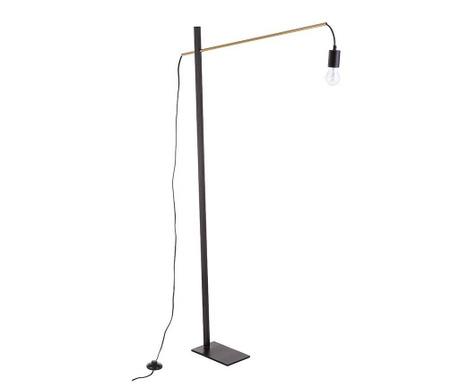 Podlahová lampa Carter Black