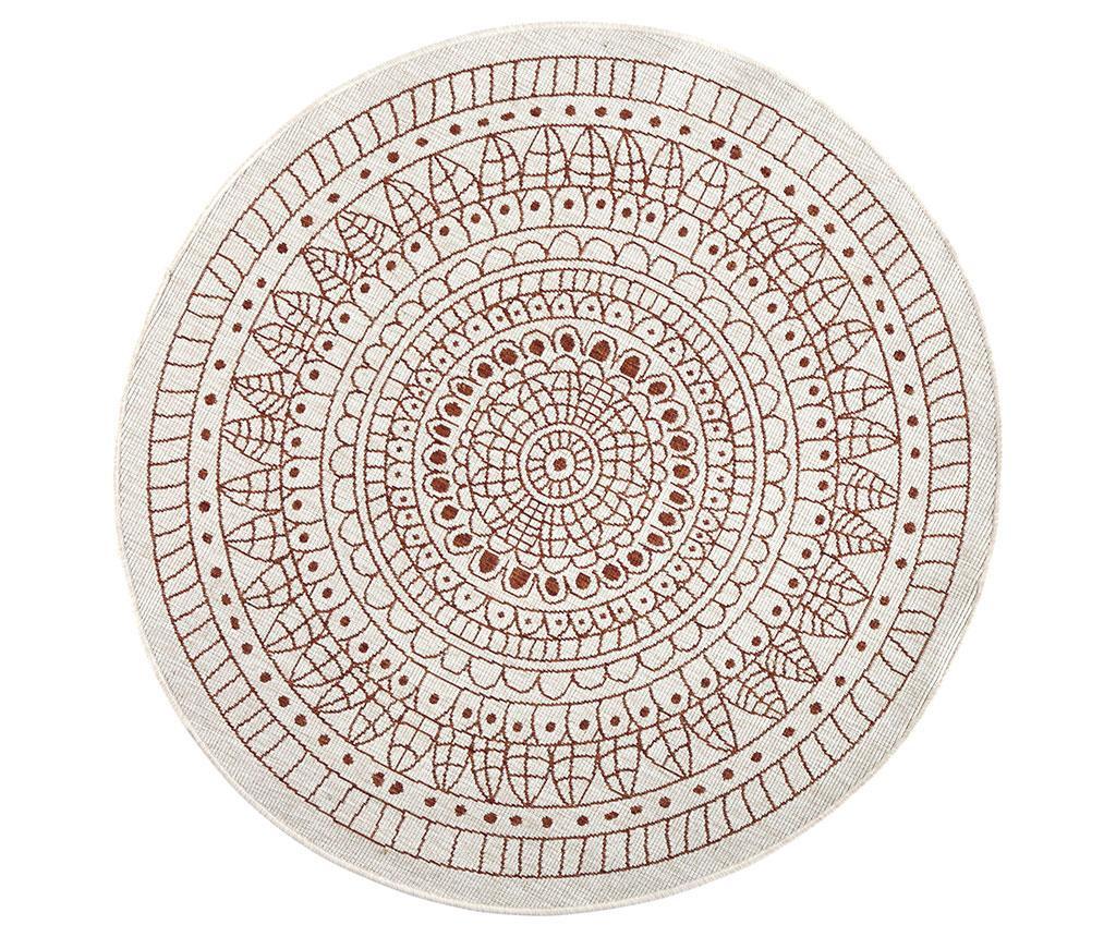 Zunanja preproga Reversible Twin Mandala Terra 200 cm