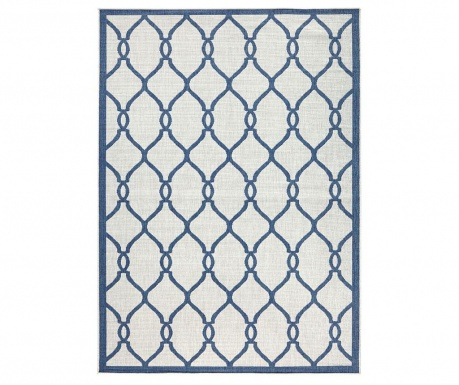 Venkovní koberec Reversible Twin Infinity Blue