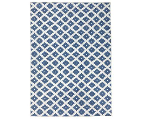 Venkovní koberec Reversible Twin Cross Blue