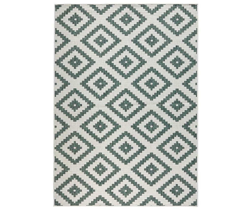 Twin Malta Green Cream Megfordítható szőnyeg 160x230 cm