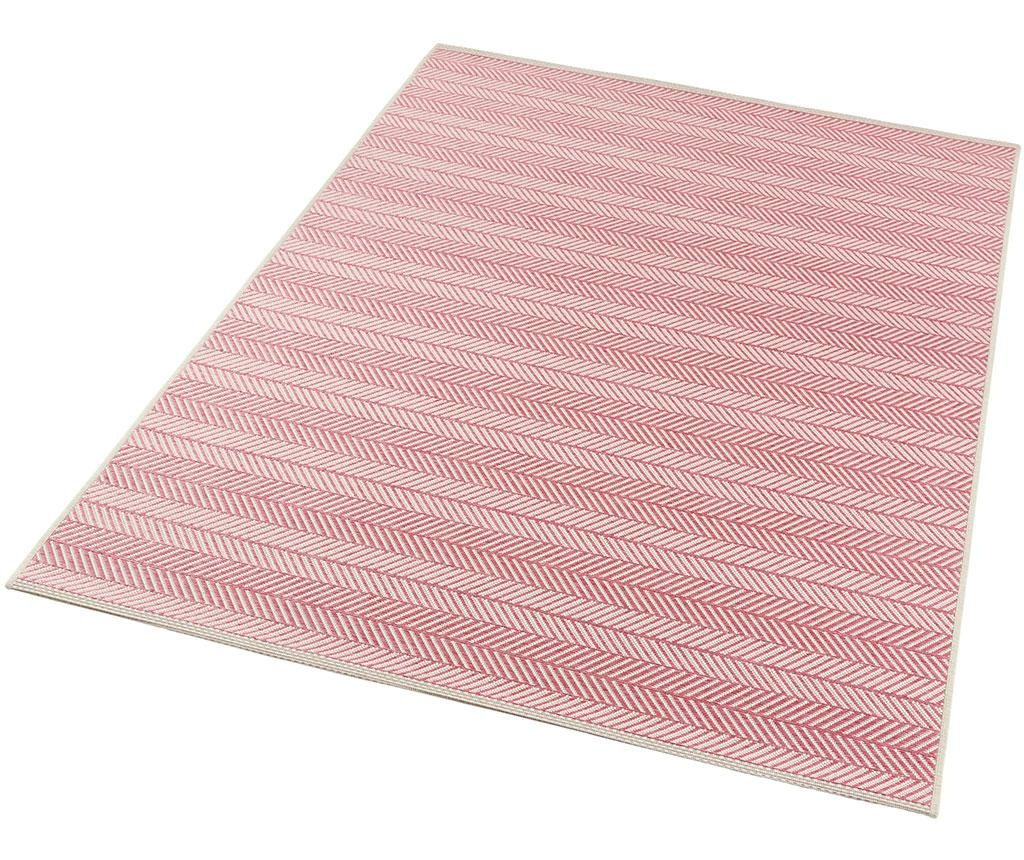 Covor de exterior Botany Caribbean Pink 70x140 cm
