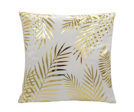 Poduszka dekoracyjna Gold Leaves 45x45 cm