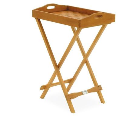 Exteriérový stolík s podnosom Kingstone