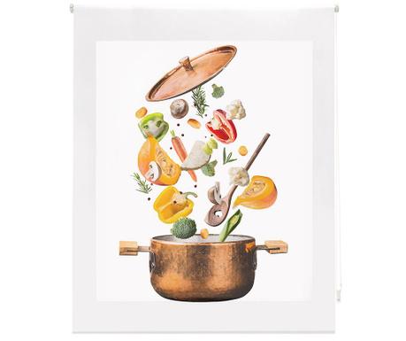 Rolo zavesa Sliced Vegetables 80x180 cm
