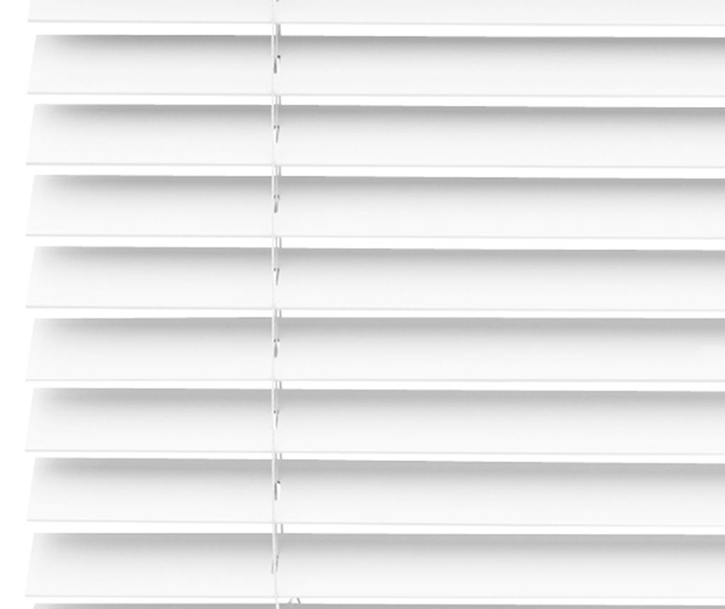 Venetian Aluminum White Reluxa 100x180 cm