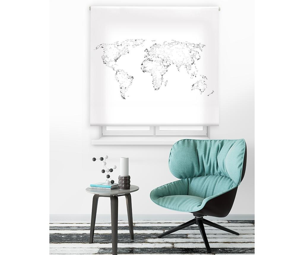 World Map Roletta 160x180 cm