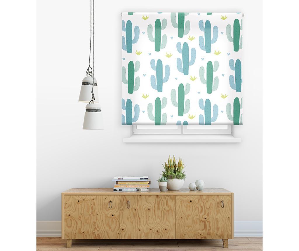 Cactus Pattern Roletta 120x180 cm